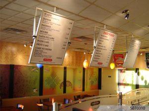 custom menu boards indoor signs